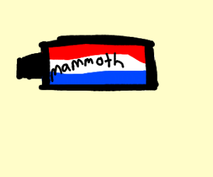 toothpaste for wooly mamoths