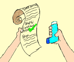 Step 6: Contract asthma