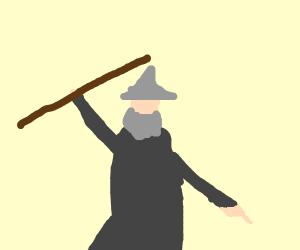 Gandalf dancing