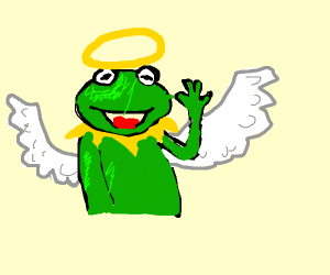 Kermit Has Become An Angel