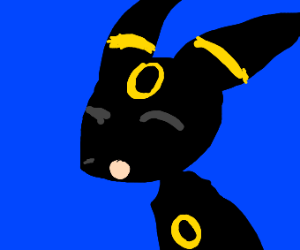 Umbreon Yawning