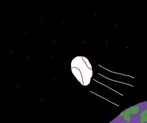 galactic-scale home run hit