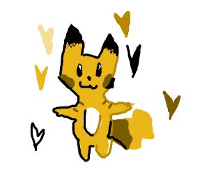 T-posing Pikachu