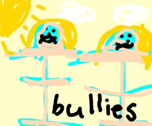 T-posing bullies