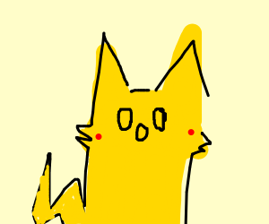 that one pikachu meme with the 0o0 face