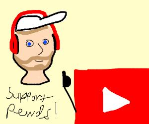 youtube supports pewdipi