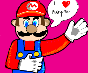 Mario Loves EVERYONE