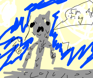 Tin Man is melting