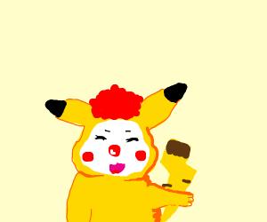 Pikachu Clowning