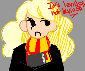 hermione granger but blonde