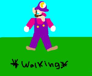 Waluigi Walking