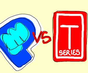 Pewdiepie or T-series