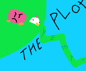 kirby yeets the plot in half with chicken hat