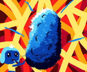 Guy wants a Blue Potato