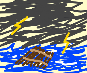 Moldy Raft - Drawception