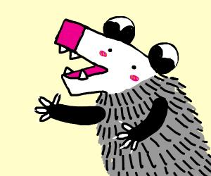 Blushing hedgehog