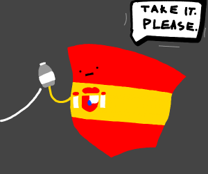 If spain gives you bottle