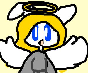 Angel rabbit girl