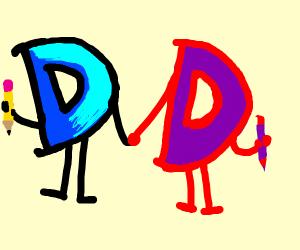 Drawseption and high contrast drawseption