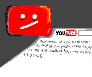youtube 2018 shutdown