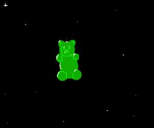 Jellybear in space