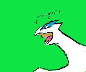 Lugia pokémon