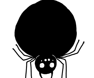 Miss spider got fat