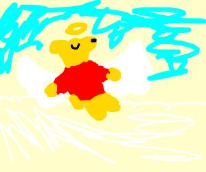 Winnie the Pooh goes to heaven