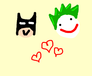 Batman and Joker are in love