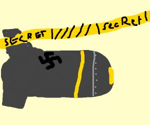 Giant secret nazi bomb