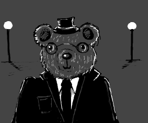 Old School Bear