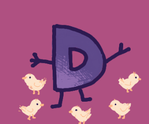 Drawception and baby chickens
