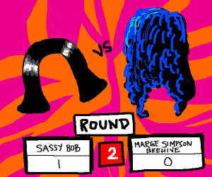Battle of the hairdos