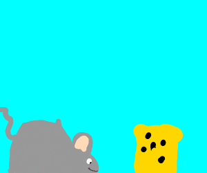 Mouse craving cheese