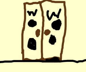 closet door woo
