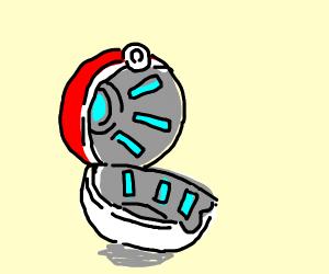 An empty Pokeball