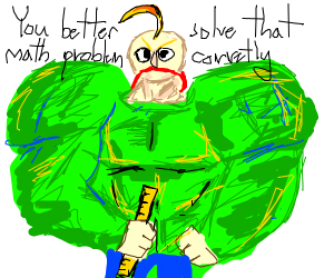 very buff baldi