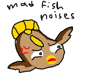 Angry Stunfisk.