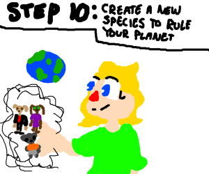 step 9: destroy the whole universe