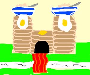breakfast castle