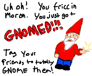 You've Been Gnomed!
