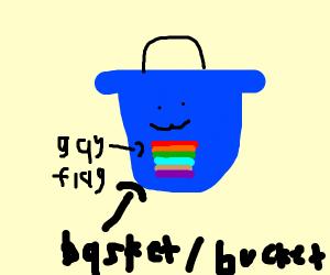 big gay basket