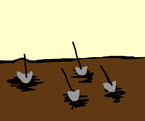 dig all the graves