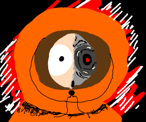 This Summer, Kenny McCormick is: Terminator