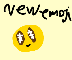 New Emoji! Football Eyes!?!!