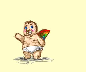 Gay Baby Superhero Comic