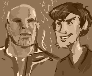 Shaggy and Thanos team up