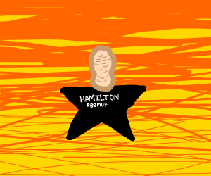 Alexander Hamilton peanut