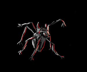 A dragon x a spider