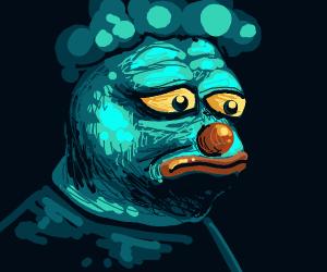 Realistic Human Clown Pepe